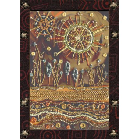 Наборы для вышивания 'НОВА СЛОБОДА' арт.ОР 5519 'Иллюзия солнца' 12,5х17,5 см