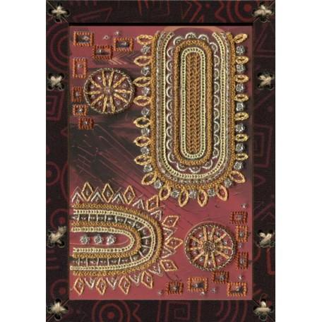 Наборы для вышивания 'НОВА СЛОБОДА' арт.ОР 5521 'Дальний мир' 12,5х17,5 см
