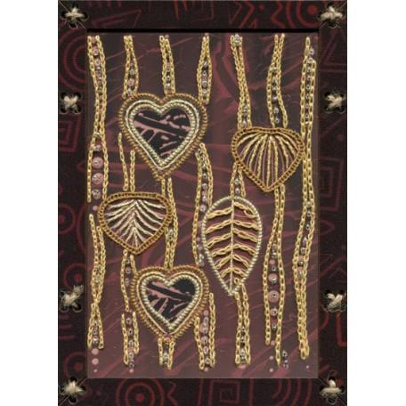 Наборы для вышивания 'НОВА СЛОБОДА' арт.ОР 5526 'Танец ветра' 12,5х17,5 см