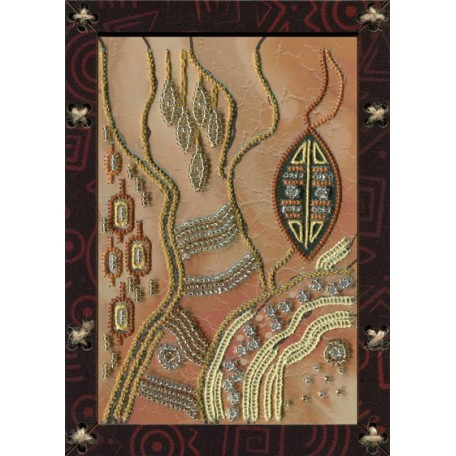 Наборы для вышивания 'НОВА СЛОБОДА' арт.ОР 5528 'Энергия земли' 12,5х17,5 см