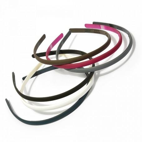 Ободок для волос арт.MS.AV.O.1021/1 каучук шир. 1 см цв.ассорти упак. 24 шт.