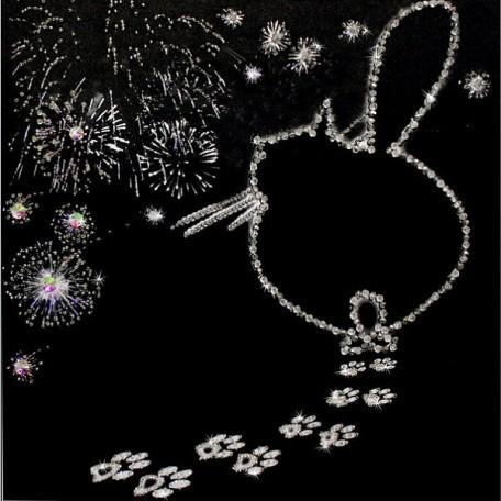 Набор для вышивания хрустальными бусинами ОБРАЗА В КАМЕНЬЯХ арт. 5526 'Ура!!! Я буду Мамой'