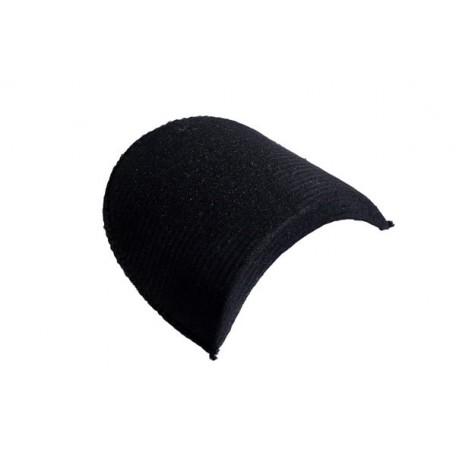 Подплечики обтянутые втачные В20 цв.черный фас.100 шт.