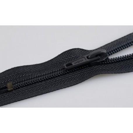Молния пласт.обувная №7-AS 10см. цв.черный