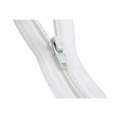 Молния пласт.обувная №7-C 35см. цв.белый
