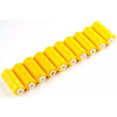 Нитки 50К-Т капрон 100% 200 м. цв.желтый