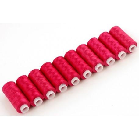 Нитки 50К-Т капрон 100% 200 м. цв.красный