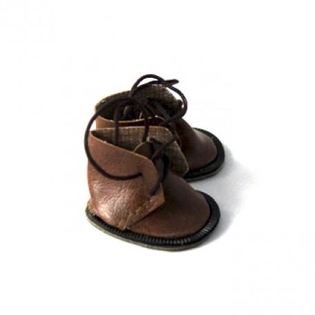 Ботиночки для кукол арт.КЛ.21868 4,5 см, пара цв.коричневый
