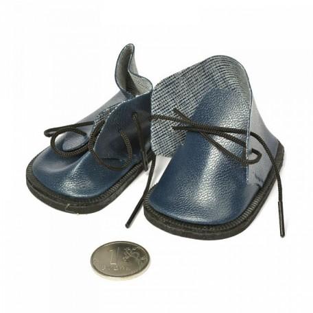 Ботиночки для кукол арт.КЛ.21869 7см, пара цв.синий