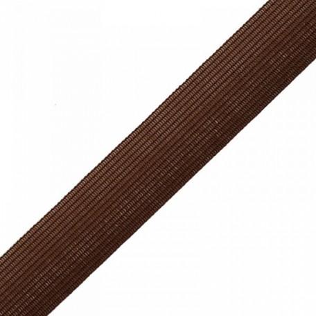 Тесьма вязаная окантовочная, 22мм, арт.4С-516/22 ,цв. 1 коричневый