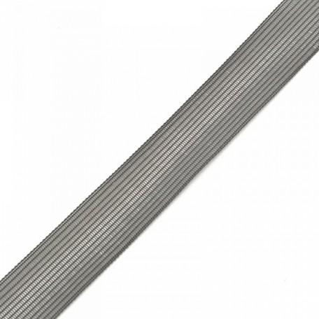 Тесьма вязаная окантовочная, 22мм, арт.4С-516/22 ,цв. 41 серый