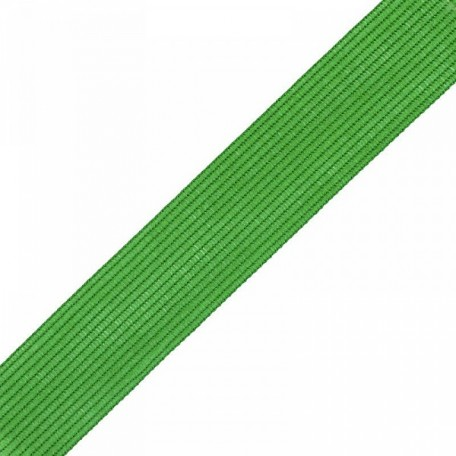Тесьма вязаная окантовочная, 22мм, арт.4С-516/22 ,цв. 49 ярк. зеленая