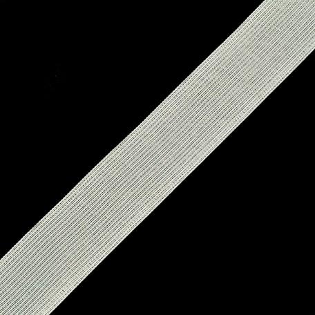 Тесьма вязаная окантовочная 32мм, арт.32С-32/32 плотность3.2гр/м цв.белый