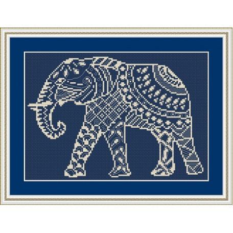 Набор для вышивания 'Орнамент' арт. ВФ-007 'Слон'