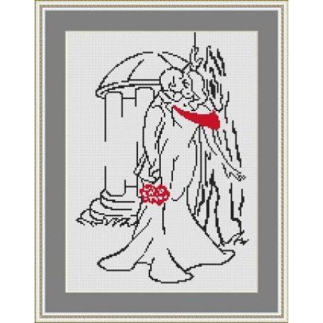 Набор для вышивания 'Орнамент' арт. ВЛ/ВЗ-002 'В парке' 20х30