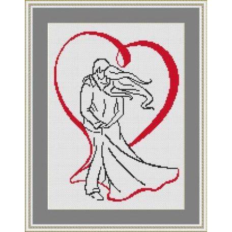 Набор для вышивания 'Орнамент' арт. ВЛ/ВЗ-003 'Вместе на век' 20х30