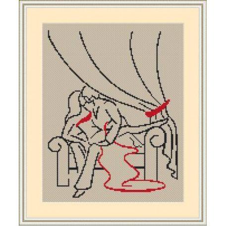 Набор для вышивания 'Орнамент' арт. ВЛ/ВЗ-006 'В будуаре' 20х30