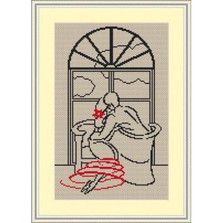 Набор для вышивания 'Орнамент' арт. ВЛ/ВЗ-011 'У окна' 20х30