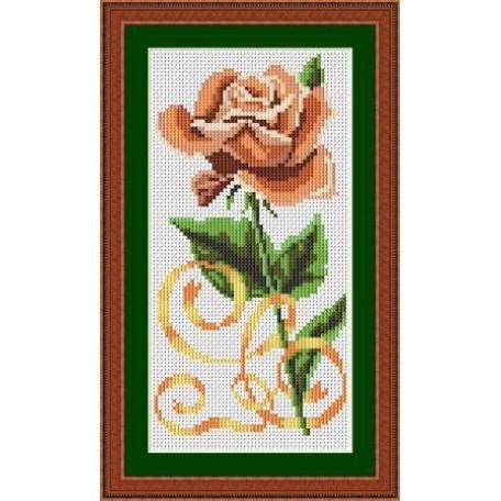Набор для вышивания 'Орнамент' арт. ВЦ-004 'Чайная роза' 10х20