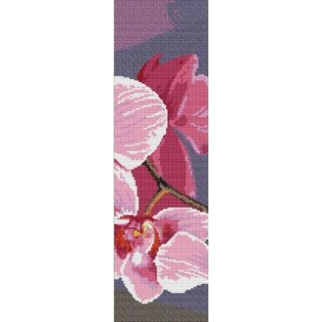 Набор для вышивания 'Орнамент' арт. ВЦ-012 Пано 'Орхидея 3' 12х39
