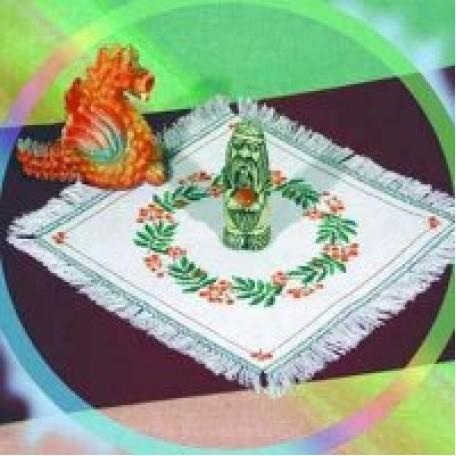 Набор для вышивания арт.Овен - 026 'Рябина' 35x35 см