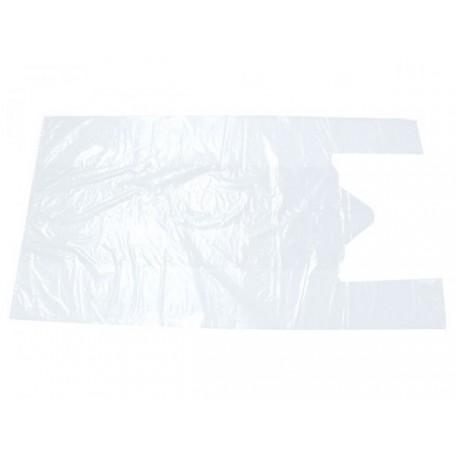 Пакет майка ПНД 30х60 белый фас.100шт. 14мкр