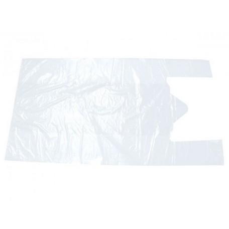 Пакет майка ПНД 40х70 белый фас.100шт. 14мкр
