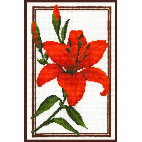 Набор для вышивания 'Палитра' арт.01.002 'Лилия' 18*28 см