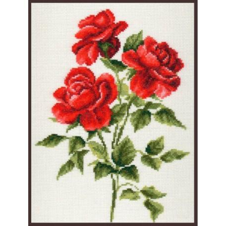 Набор для вышивания 'Палитра' арт.01.009 'Три розы' 20*27 см