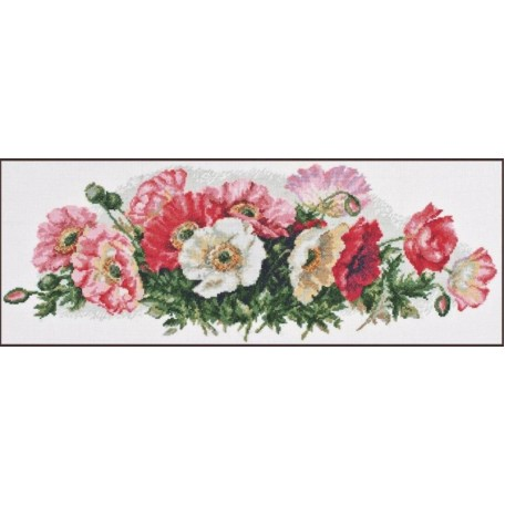 Набор для вышивания 'Палитра' арт.01.011 'Для тебя,любимая' 51х20см