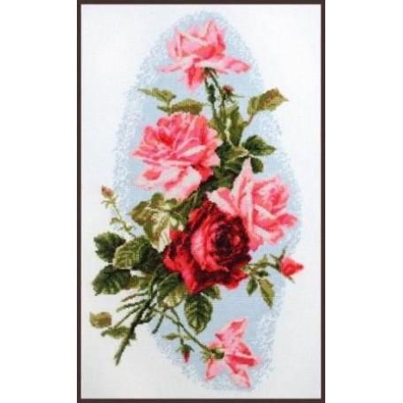 Набор для вышивания 'Палитра' арт.01.012 'Розовый шик' 24*41 см