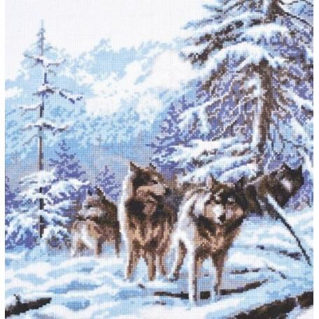 Набор для вышивания 'Палитра' арт.03.006 'Морозное утро' 26*27 см