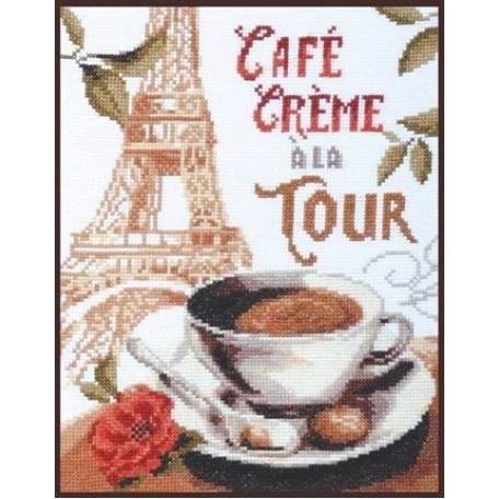 Набор для вышивания 'Палитра' арт.04.003 'Кофе со сливками' 19*25 см