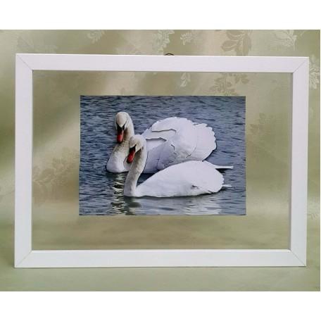 РТ130068 Папертоль 'Белые лебеди' 19х14см