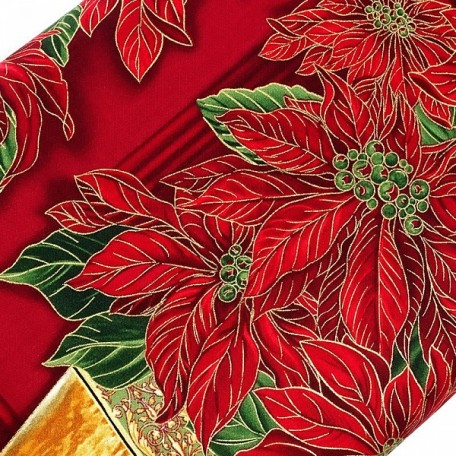 ST.G.CM1263.RED Ткань для пэчворка 100 % хлопок шир.110 см Timeless Treasure Holiday Door Panel