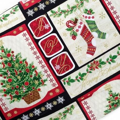 ST.H.0493G-99 Tкань для пэчворка 100 % хлопок шир.110 см Benartex Holiday Magic