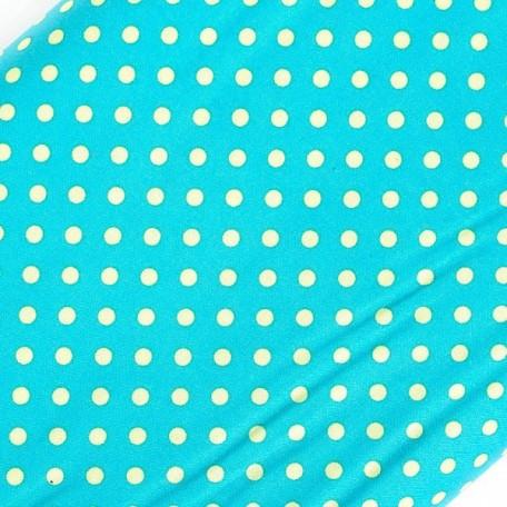 ST.I.CX2490.LAGOON Ткань для пэчворка 100 % хлопок шир.110 см Michael Miller Dumb dot