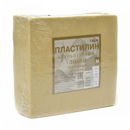 GM.2.80.E050.002 Гамма Пластилин скульптурный Телесный М 0,5кг