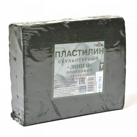 GM.2.80.E050.003 Гамма Пластилин скульптурный Оливковый Т 0,5кг