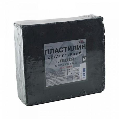 GM.2.80.E050.004 Гамма Пластилин скульптурный Оливковый М 0,5кг