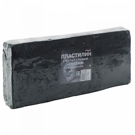 GM.2.80.E100.003 Гамма Пластилин скульптурный Оливковый Т 1кг