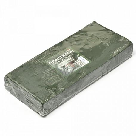 GM.2.80.E100.004 Гамма Пластилин скульптурный Оливковый М 1кг