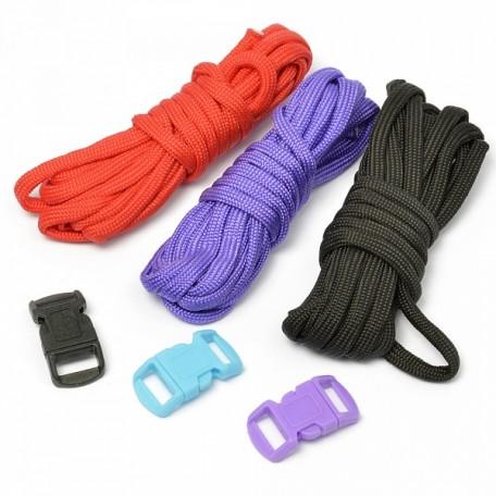Набор для браслета из шнура (3 шнурка, 2,55 м)