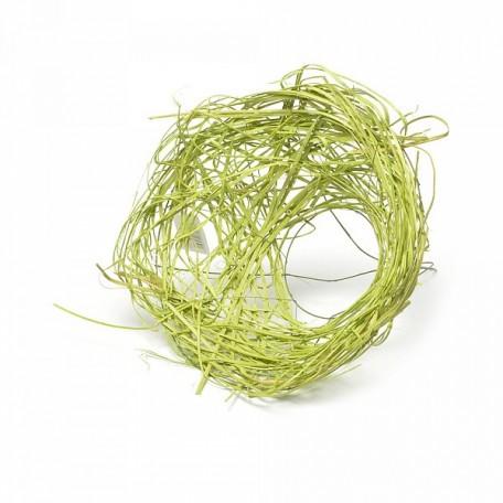 Каркас для букета (ротанг) арт.ZA.RBH-25-AGRN 25 см цв.зеленое яблоко