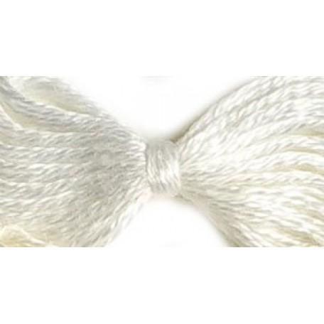 Нитки мулине 12х10м цв.0101/1 белый, С-Пб