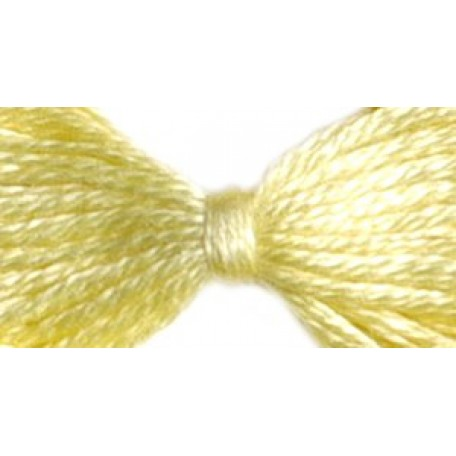 Нитки мулине 12х10м цв.0300 бл.желтый С-Пб