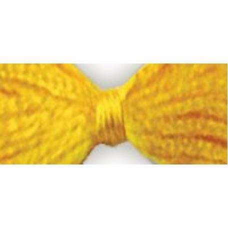 Нитки мулине 12х10м цв.0305 желтый С-Пб
