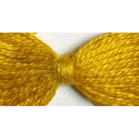 Нитки мулине 12х10м цв.0306 желтый С-Пб