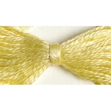 Нитки мулине 12х10м цв.0502 светло-желтый С-Пб