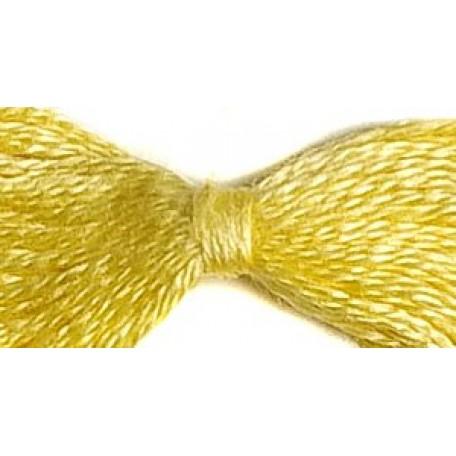 Нитки мулине 12х10м цв.0504 светло-желтый С-Пб